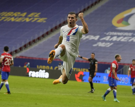 Uruguay, Paraguay qualify for Copa America knockout round