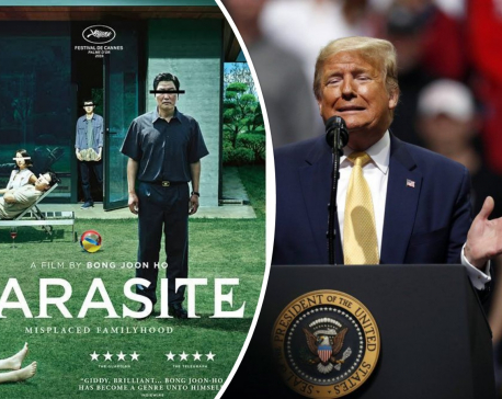 Trump not a 'Parasite' fan, praises 'Gone with the Wind'