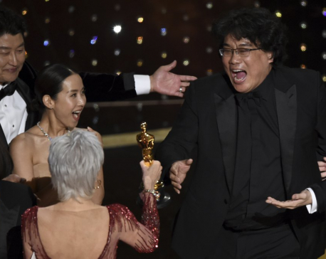 'Parasite' takes best picture Oscar