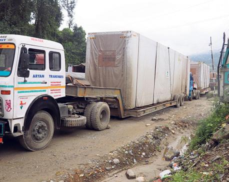 Police: Traffic congestion along Naubise-Nagdhunga road eases