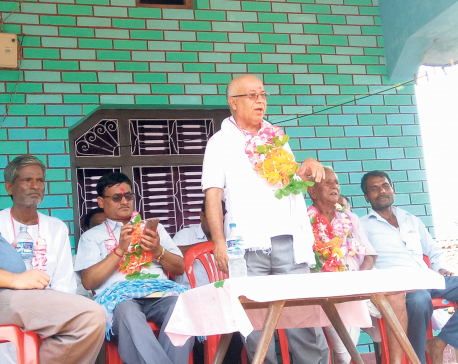 Parties jostle to appease flood-hit voters with aid and relief materials