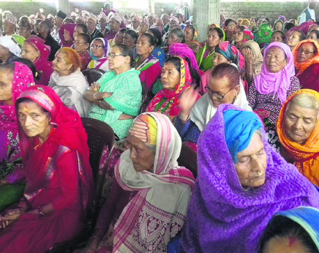 Parties holding felicitation programs to woo elderly voters