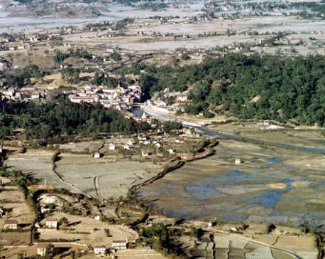 Nostalgia: A view of Pashupatinath area