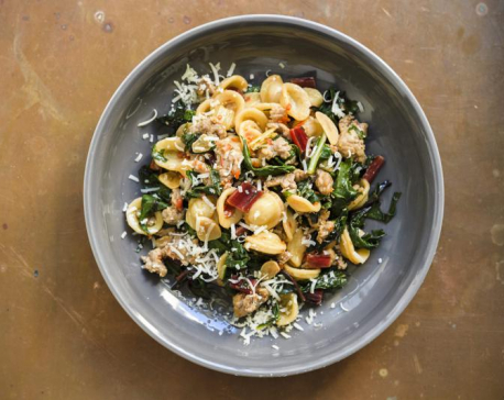 Weeknight pasta comes with tasty shortcut