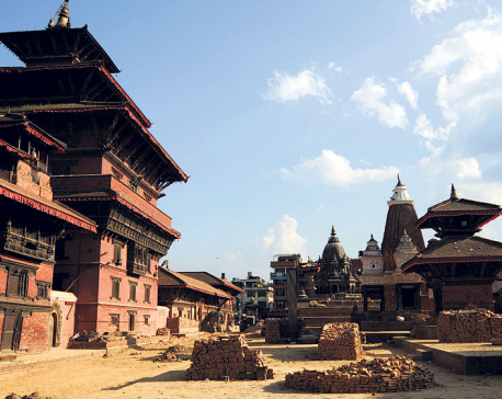 Reconstruction task of Patan Museum begins