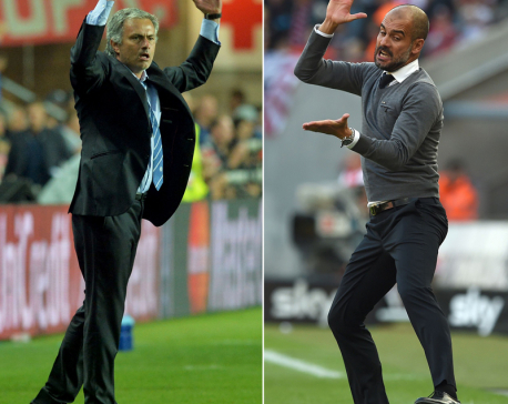 All eyes on Manchester as Mourinho, Guardiola lock horns