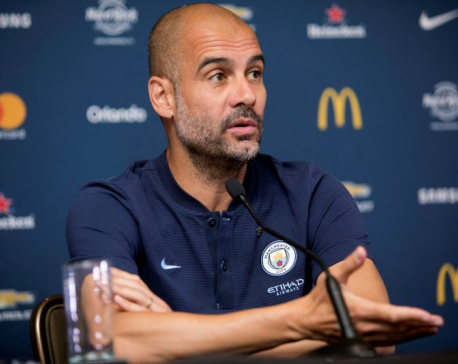 Guardiola criticises ball after City beat Wolves on penalties