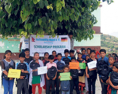 NRN in Germany collecting funds to rebuild Nepal