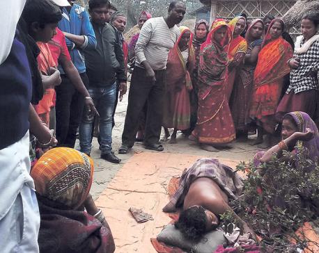 Wild elephant kills two women in Saptari