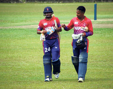 Aarif, bowlers power Nepal to commanding win despite batting failure