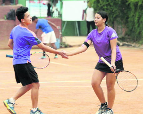 Samrakshak-Mayanka pair clinches mixed doubles title