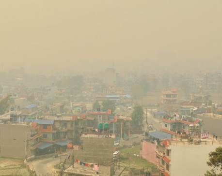 Smog to stay for some more days in Kathmandu Valley