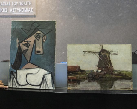 Greek construction worker arrested for Picasso work theft