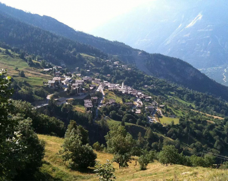 Picturesque Swiss village considers offering families £50,000 to move there