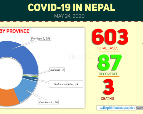 Health Ministry confirms 19 cases of coronavirus today; COVID-19 national tally soars to 603