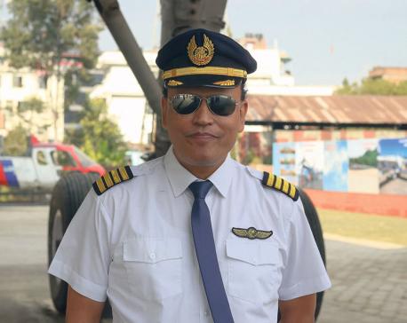 Pilot of Aviation Museum