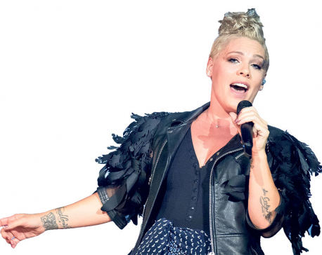 Pink recalls being traumatized by bug