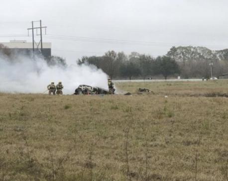 Plane crash kills 5, including LSU coach's daughter-in-law