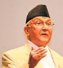 PM Oli urges Indian businesspeople for increasing joint venture in Nepal