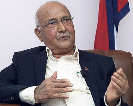 Oli vows to root out corruption