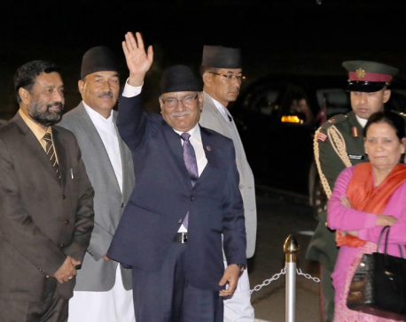 PM leaves for China