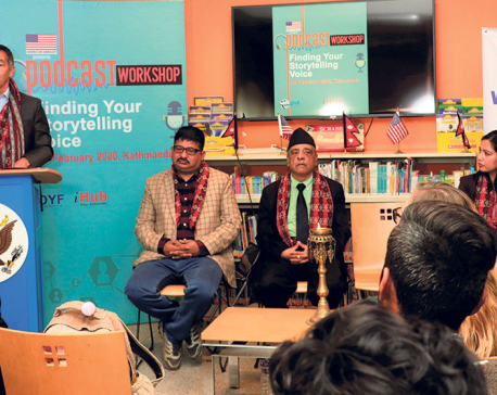 Podcast training for youths kicks off in Kathmandu