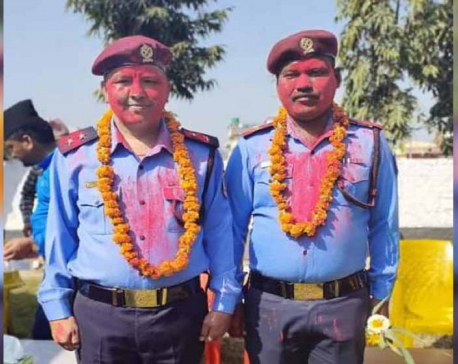 Two police officers involved in successful investigation of the case promoted