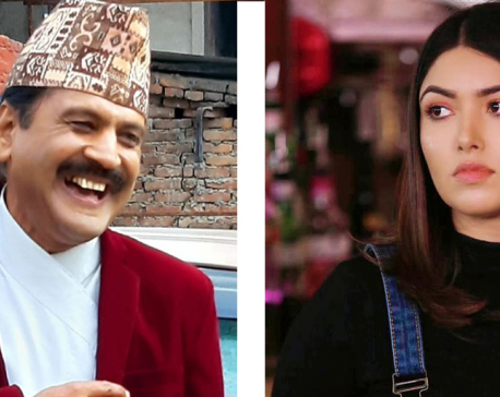 Rajatpat host Prakash Subedi and actress Pooja Sharma agree to end their month-long row