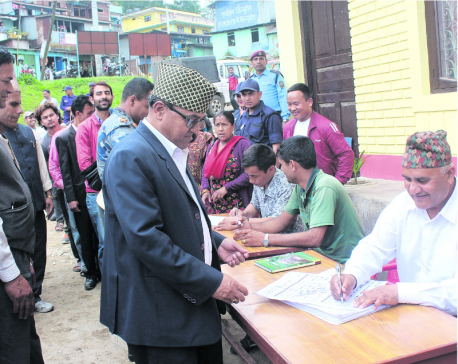 Panchthar politicians busy in poll preparations