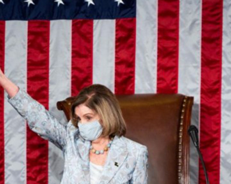 Pelosi re-elected as U.S. House speaker amid political uncertainty