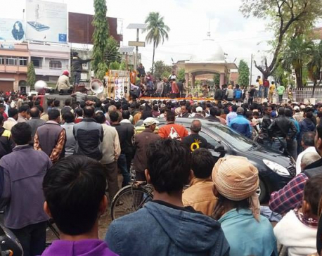Funeral procession for Saptari incident victims begins
