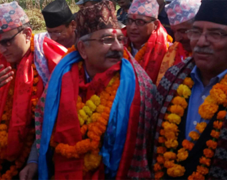 Dahal confident on Left Alliance victory