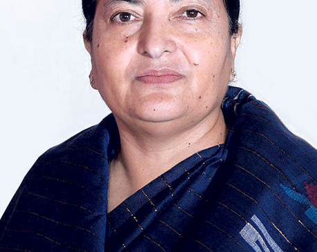 Prez Bhandari urges NC to end political deadlock