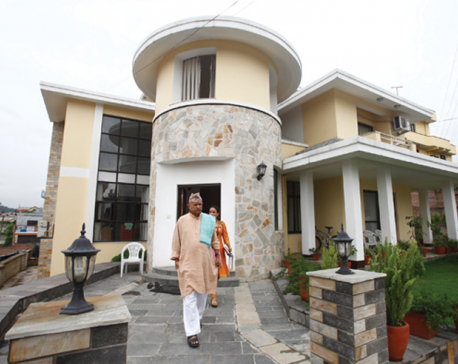 House owner asks Former President Yadav to leave for not paying rent
