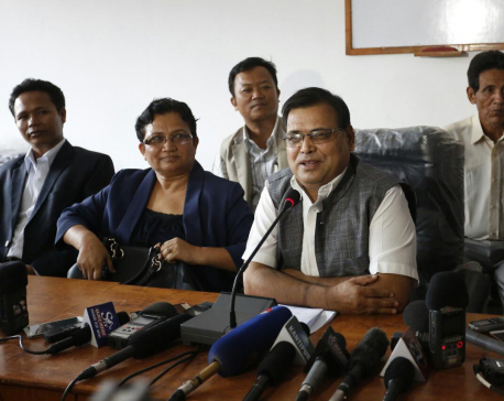 Step down now: CPN  (Maoist Center) tells PM Oli (video)