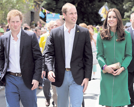 'Princes William and Harry have cameos in 'Star Wars'