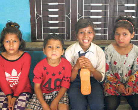 Life changes for Pooja who nearly quit school due to poverty