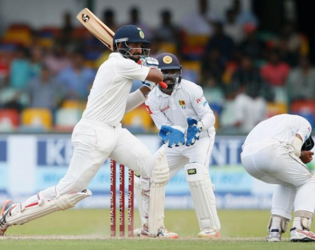 Pujara, Rahane tons put India on top in Colombo