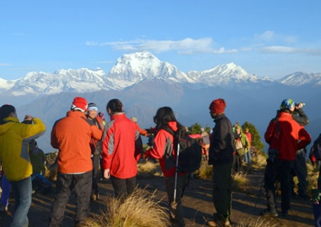 Pun Hill listed as top 10 destinations in Nepal