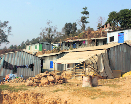 Reconstruction still delayed in Dhading