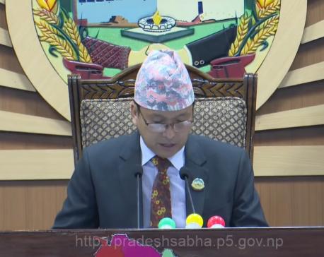 Lumbini Province's speaker Gharti has COVID-19