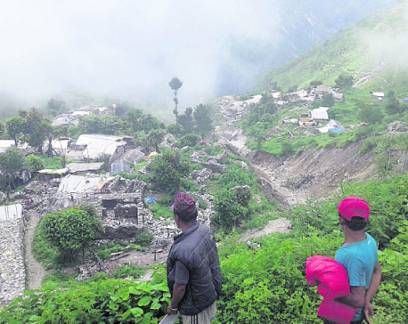 Quake victims spending third monsoon in tents