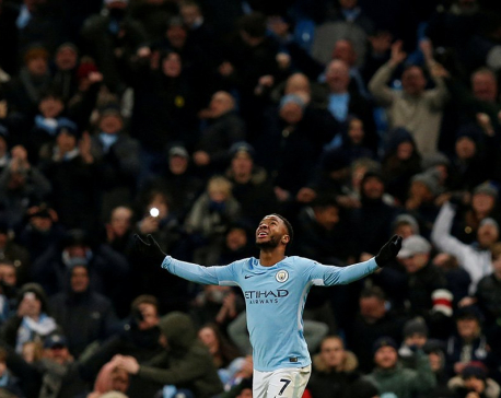 Sterling stunner keeps City clear, chasers all win