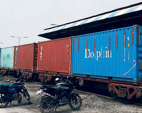 Container train service to ease foreign trade via Biratnagar