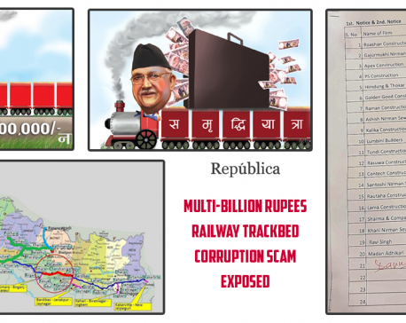 How a multi-billion rupee railway trackbed corruption scam was exposed and ultimately brought down