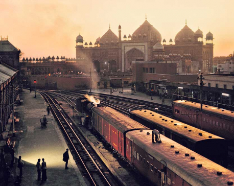 India by train
