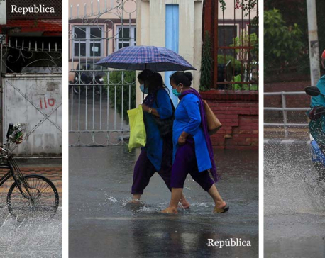 Heavy rainfall to continue for few more days