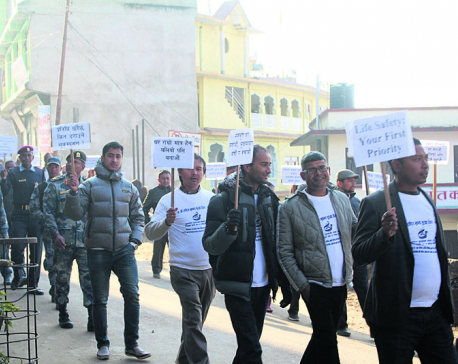 Awareness rally fails to impress quake-victims