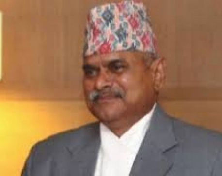 Former President Yadav urges for political consensus to ensure elections