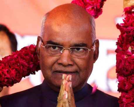 India swears in Ram Nath Kovind as 14th President